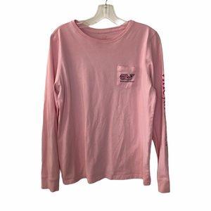 Vineyard Vines Pink Valentines Day Shirt M